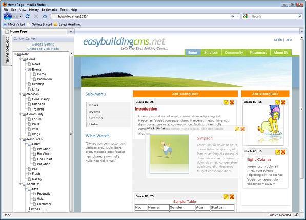 EasyBuildingCMS.NET (A Module-based CMSFramework)