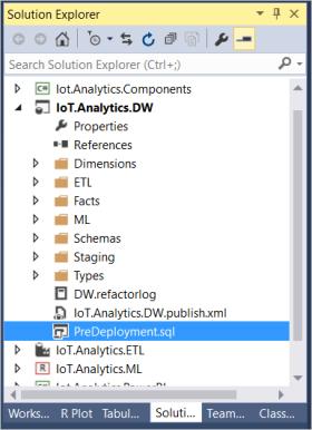 Workaround for Building Azure Data Warehouse using Visual
