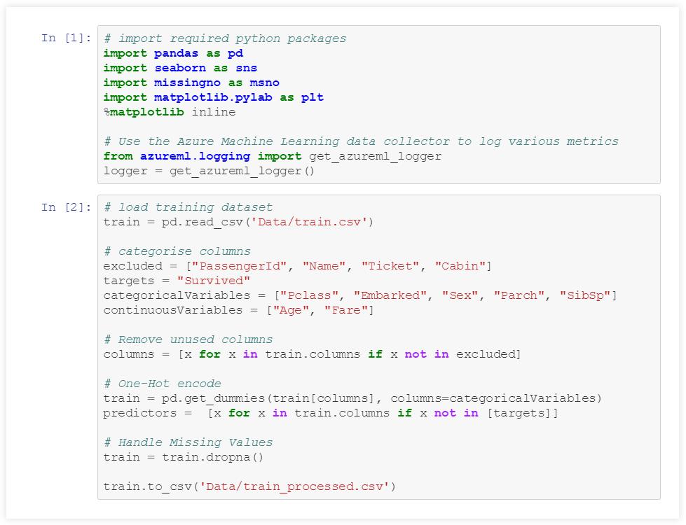 Python – Azure Data Ninjago