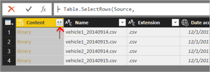 Power Query – Parameterised Files Loading from Azure Data