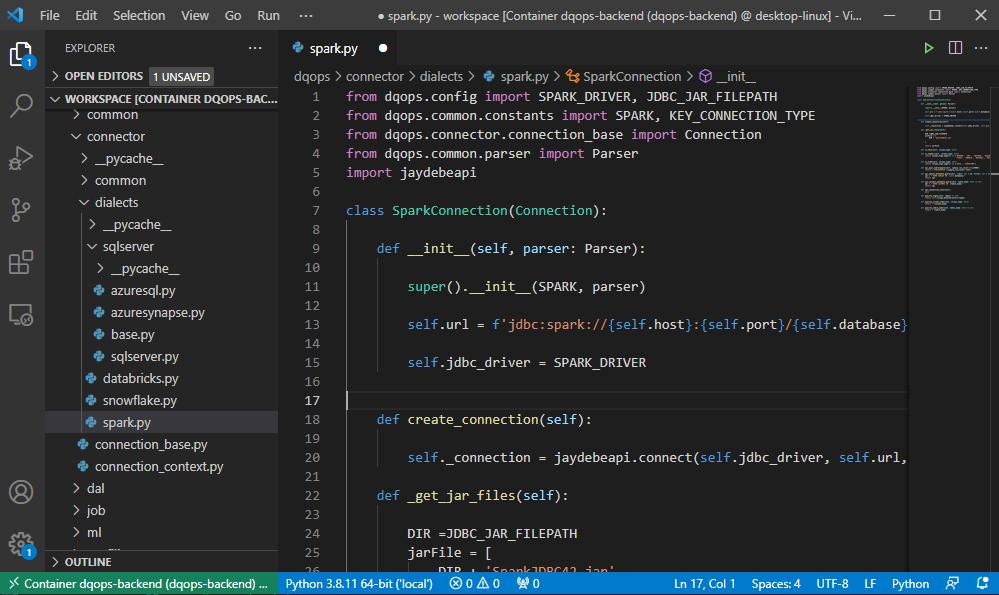 Setup a Dockerised Spark Development Environment with VS code andDocker